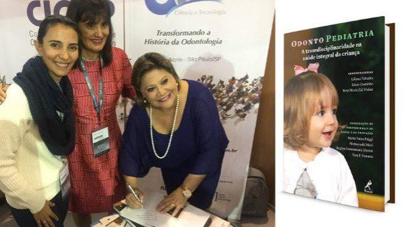 Brasileiras lançam livro de Odontopediatria no 25º Congresso Anual da OMD (Fonte: Divulgação)