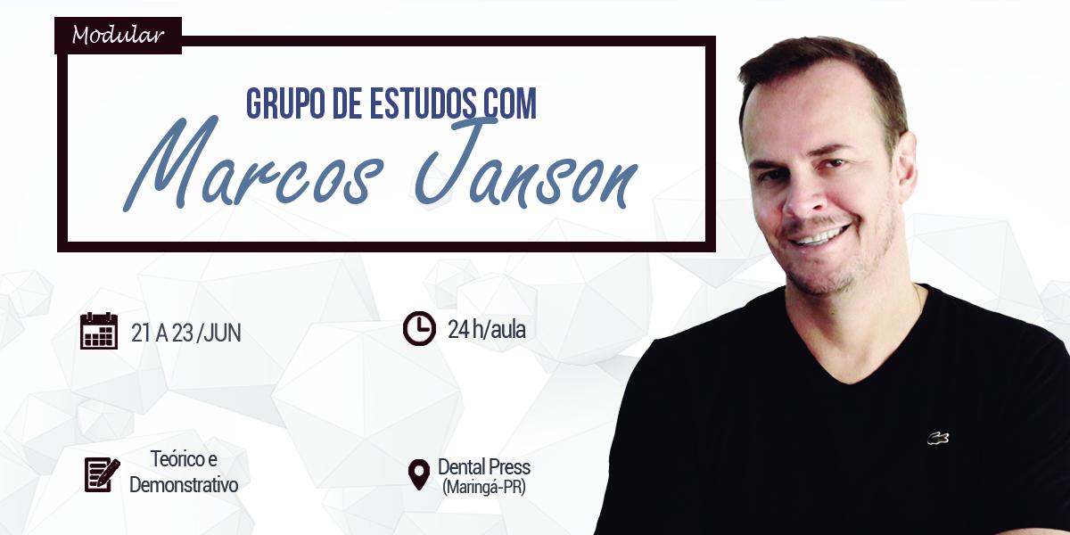 Grupo de Estudos com Marcos Janson