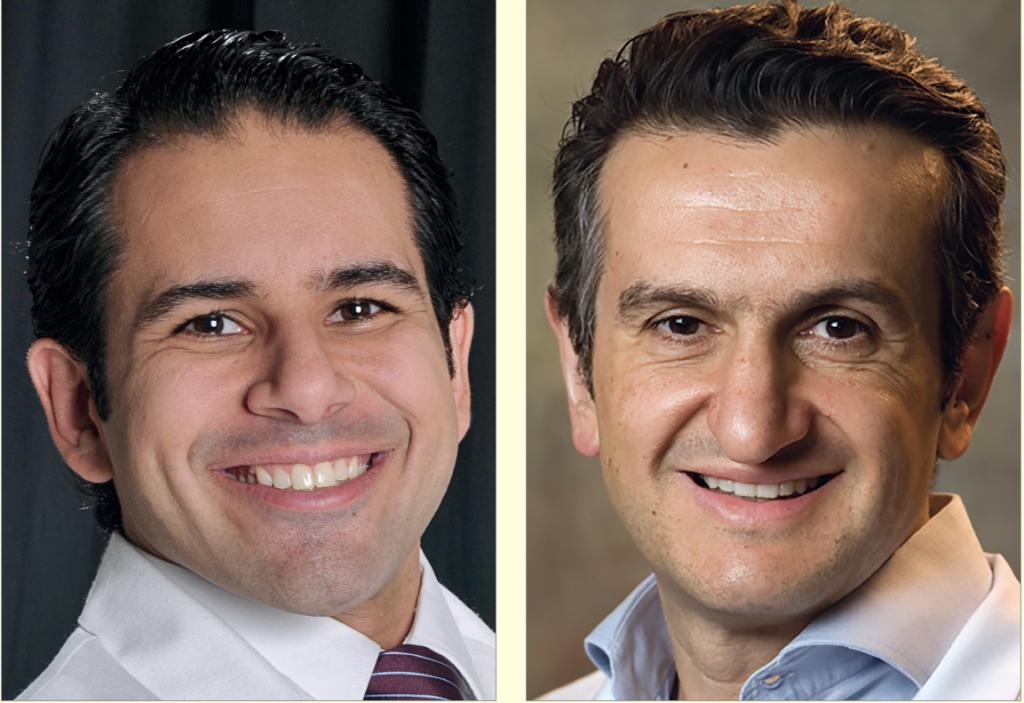 Dr. Renato Parsekian e Dr. Marcos Pitta (Foto: Acervo Dental Press)
