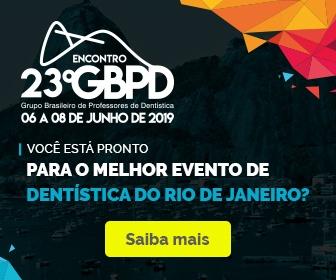 23º Encontro do Grupo Brasileiro de professores de dentística