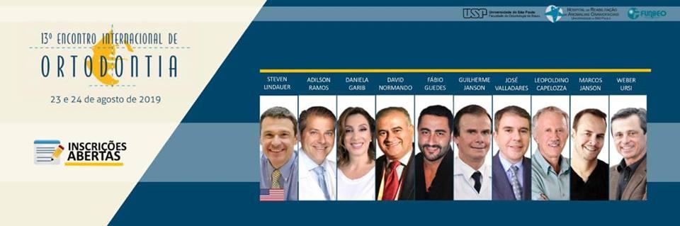 13° encontro internacional de ortodontia