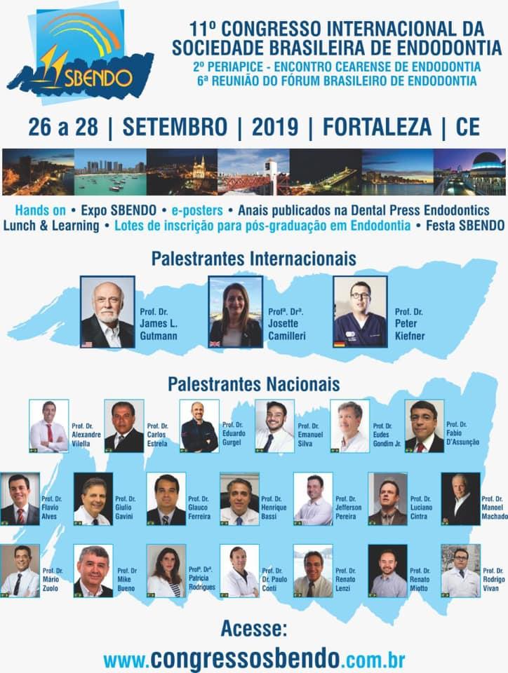 11° Congresso Internacional da Sociedade Brasileira de Endodontia