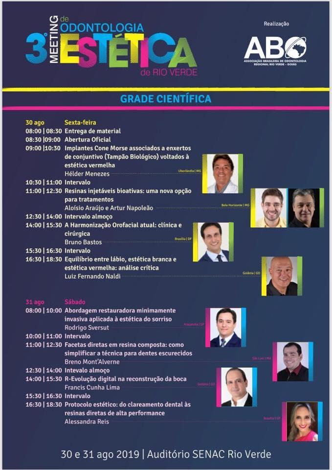 3° meeting Odontologia Estética